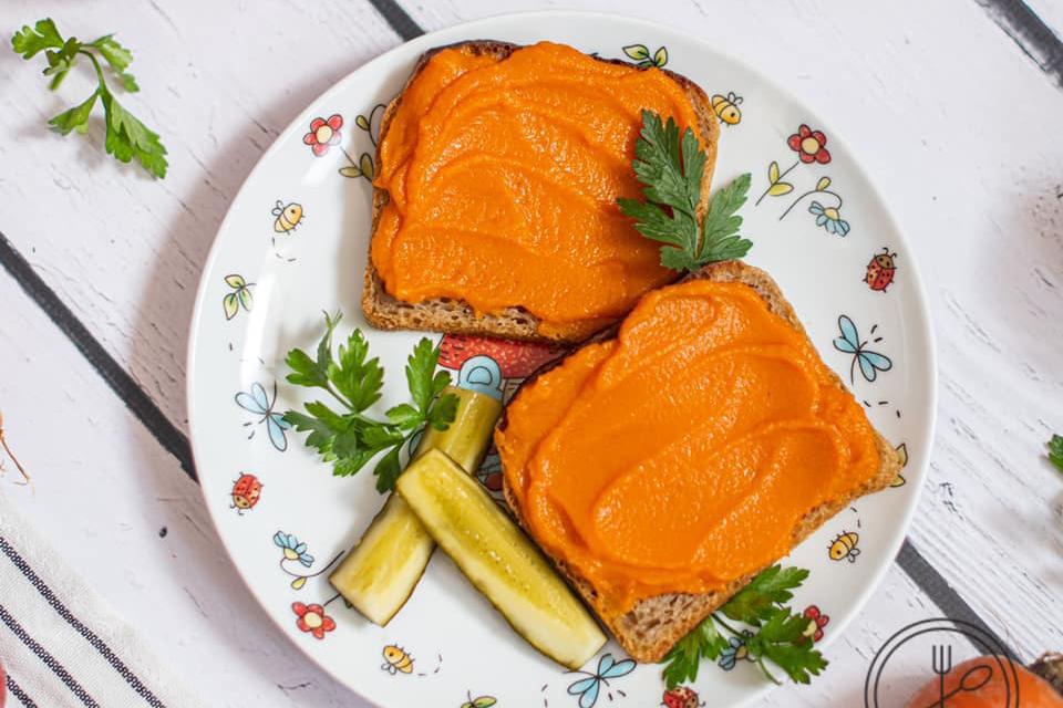 Pasta z marchewki